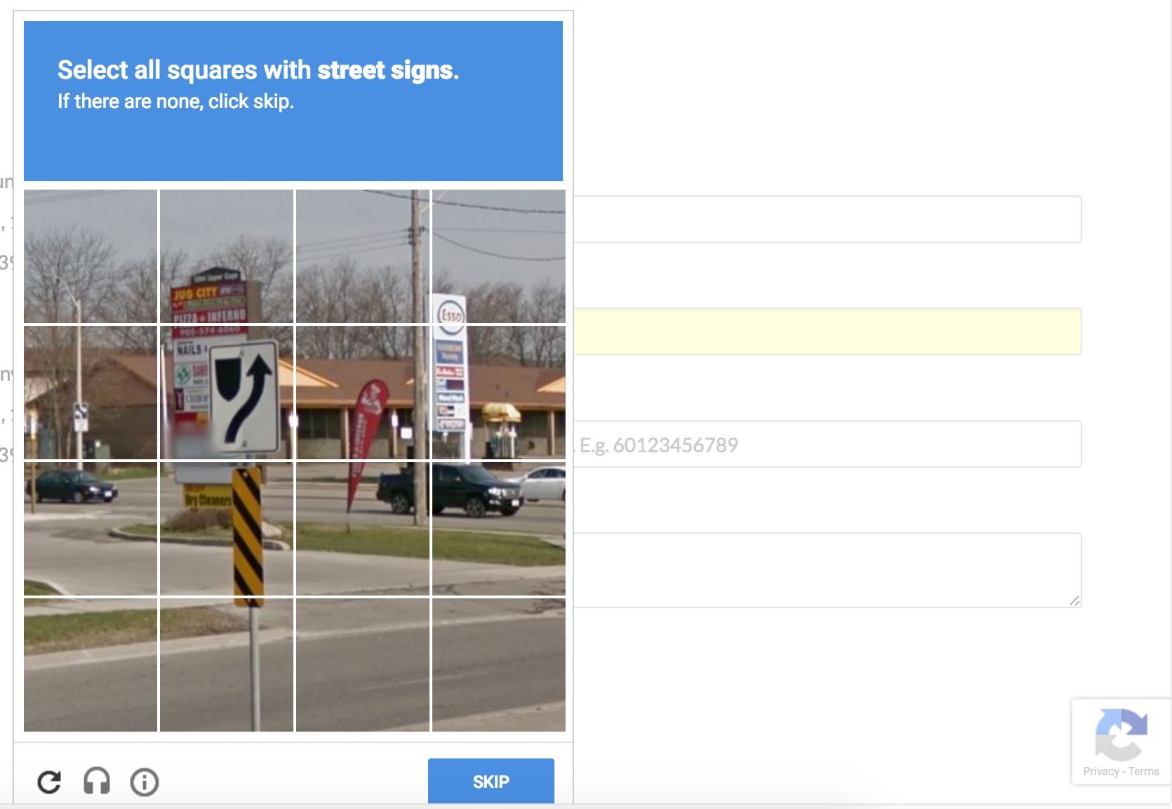 Google reCAPTCHA Validation - Maxemail User Guide